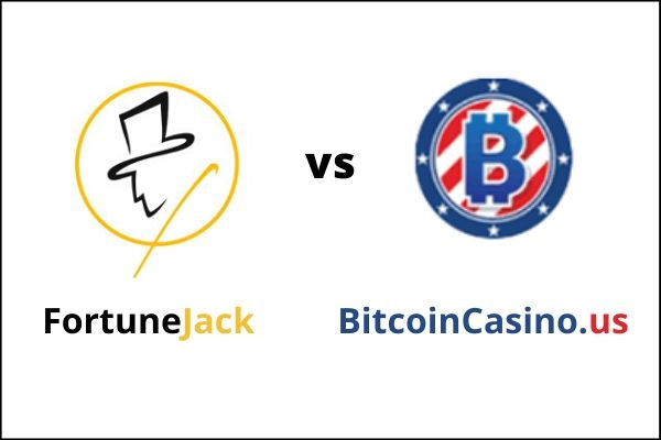 FortuneJack vs BitcoinCasino.us