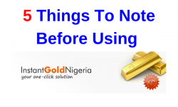 InstantGold.ng Review - 5 Things To Note Before Using This Exchange