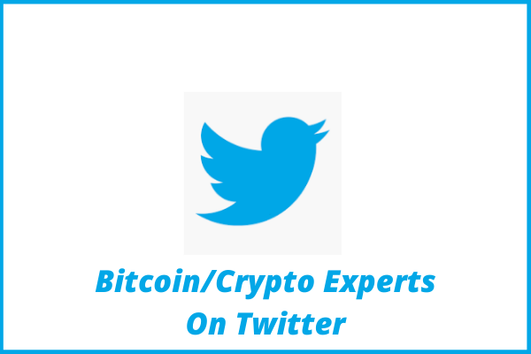 Bitcoin_Crypto Experts On Twitter