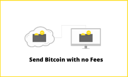 send bitcoin withno fees