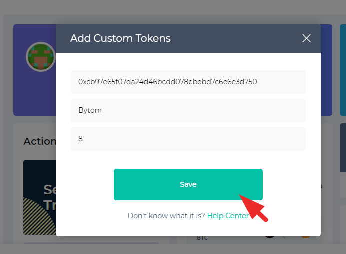 ADDCUSTOM TOKEN ON MyEtherWallet