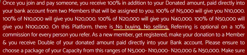 sure money ng no trading