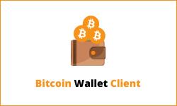 Bitcoin wallet client