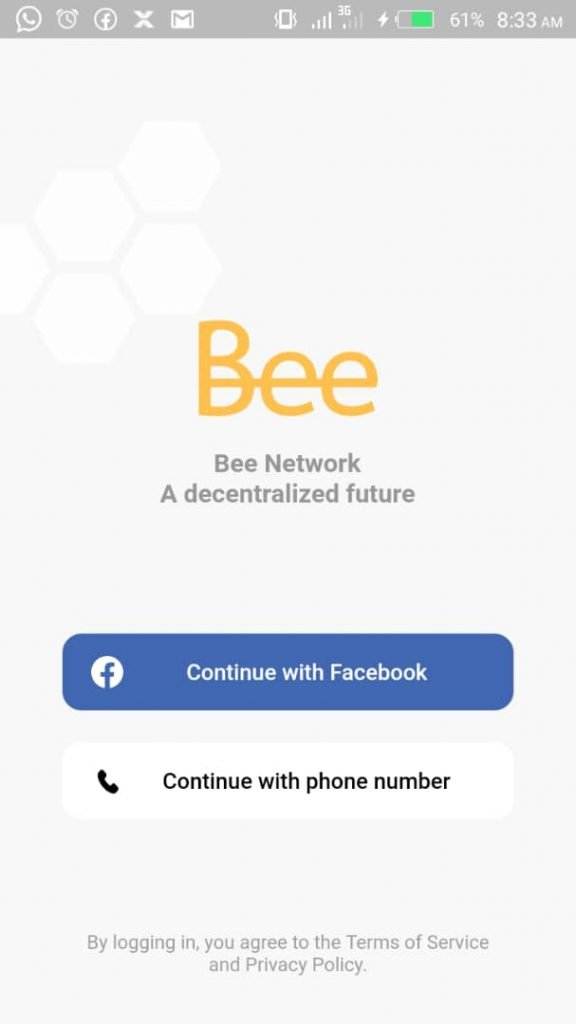 welcome to bee network
