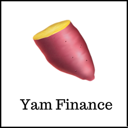 food-themed DeFi projects Yam Finance