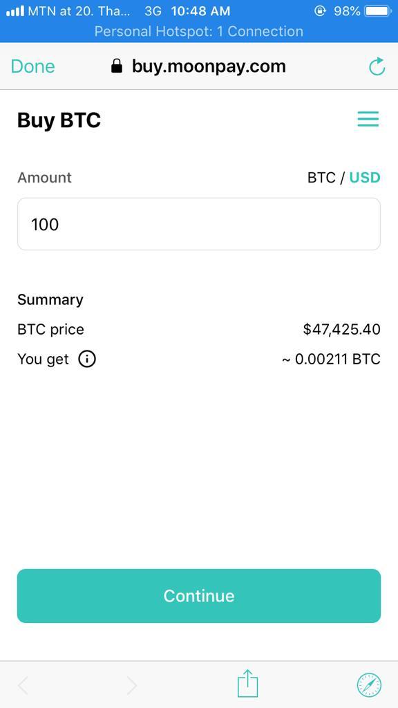 buy BTC ZENGO