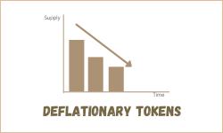 deflationary tokens