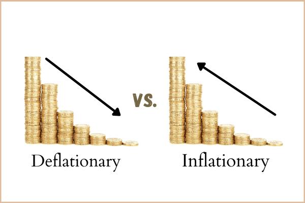 deflationary vs inflationary